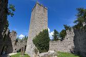 Château « castello di vezio » sur le lac de côme, italie — Photo