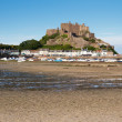 Mont Orgueil Castle in Gorey, Jersey, UK - Stock Photo
