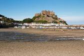 Mont Orgueil Castle in Gorey, Jersey, UK — Stock Photo