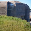 Old german bunker on the island of Jersey, UK - Stock Photo