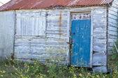 Antigo galpão de madeira — Foto Stock