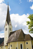 Historic Bavarian church — Stock Photo