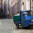 Stock Photo: Three Wheeler in Italy