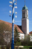 Bavarian Maypole — Stock Photo