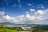 Hilly countryside of le Marche, Italy — Stock Photo