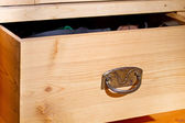 Wooden drawer — Stock Photo