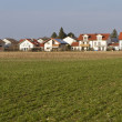 Newly built housing area in Bavaria — Stock Photo