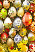 Huevos de pascua, formato de relleno — Foto de Stock