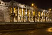 """Haus der Kunst"" museum in Munich, Germany, at night — Stock Photo"