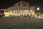 The historic national theater in Munich, Germany — Stock Photo