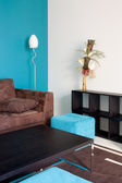 Livingroom view — Stock Photo
