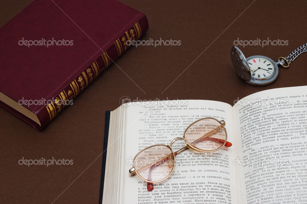 Studio photograph of books on table. — Stock Photo #9136325
