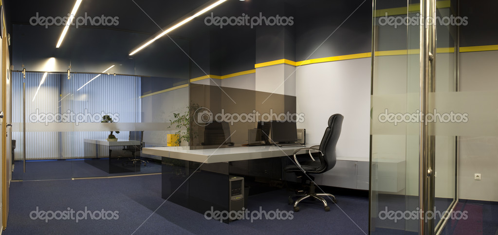 Photograph of modern office interior  Stock Photo #9202568