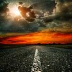 Asphalt road — Fotografia Stock  #10468292