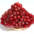 Pomegranate isolated on white background - Stockfoto