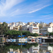 Beautiful views of the Greek city — Stock Photo #9245370