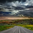 A winding paved country road — Stock Photo #9245527