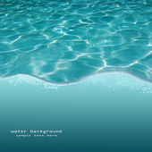 Background of rippled pattern of clean water in a blue swimming pool — Stock Photo