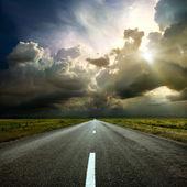 Le long de la route — Photo