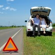 Failure on the road — Stock Photo