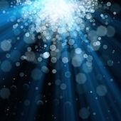 Sfondo di luci blu — Foto Stock