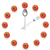Hours of tomatoes — Stock Photo