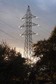 高圧鉄塔 — ストック写真