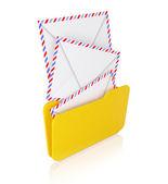 Notion de courrier entrant — Photo