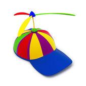 çok renkli beyzbol şapkası — Stok fotoğraf