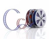Cinema film reels — Stock Photo