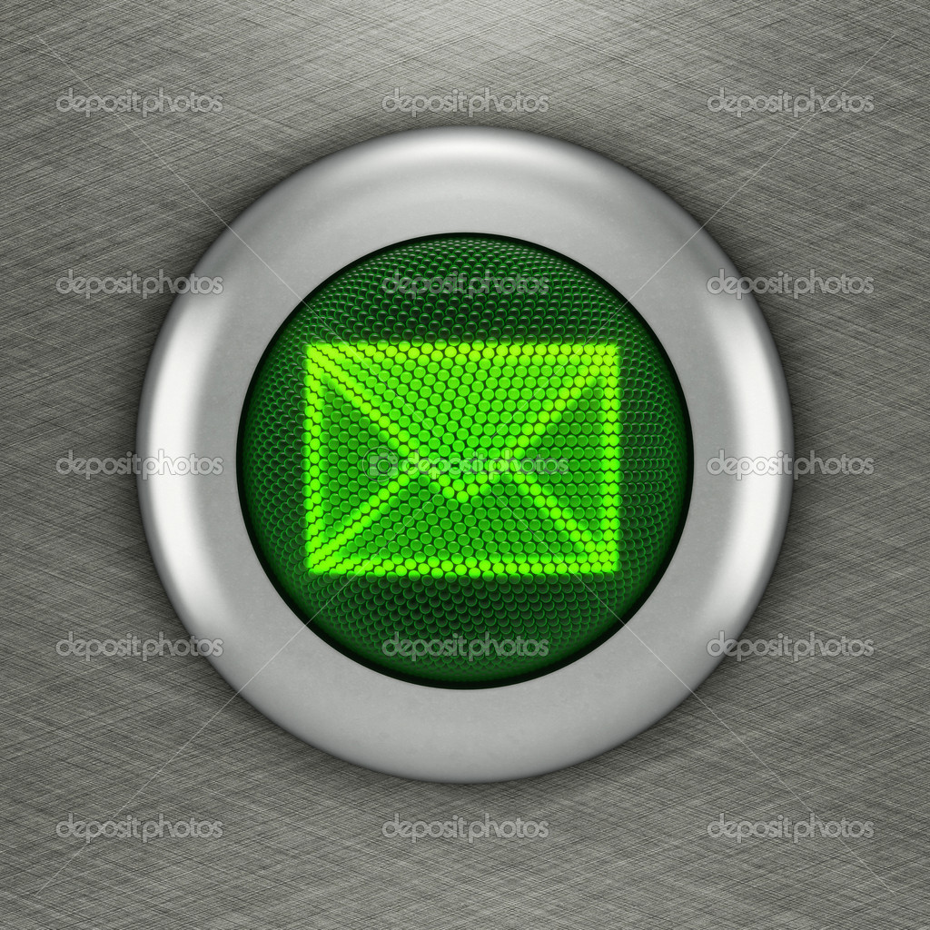 Button Mail concept  — Stock Photo #9221856