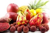 Exotic tropical fruits — Stockfoto