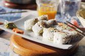 Sushi - California rolls — Stock Photo