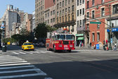 FDNY Ladder 24. Columbus Av. — Stock Photo