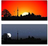 Cityscape of Toronto — Stock Vector
