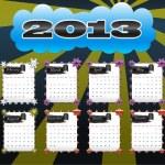 2013 vector calendar — Stock Vector #10524171