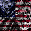 Stock fotografie: Word cloud formed from cities of USA