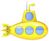 Yellow submarine. — Stock Photo