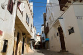 Small street in Tangier — Stock Photo