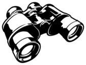 Vector Binoculars — Stock Vector