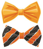 Vector Bow Ties — Stock Vector