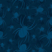 Seamless Vector Spider Pattern — Cтоковый вектор