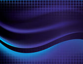 Abstract Vector Wave Background — Stock Vector