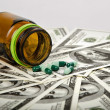 Medicine and money — Stock Photo #9214059