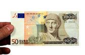 Eurodrachme — Stock Photo