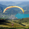 Royalty-Free Stock Photo: Paragliding in the Alps