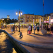 Boulevard of Lazise — Stock Photo