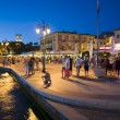 Stock Photo: Boulevard of Lazise