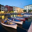 Lazise Harbor — Stock Photo