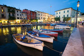 Lazise Harbor — Foto Stock